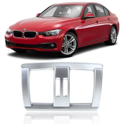MOLDURA APLIQUE DO AR BMW 3 SERIES 2016 PRATA MK2