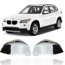 CAPA ESPELHO RETROVISOR BMW X1 2012 CROMADO PINTADO MK2