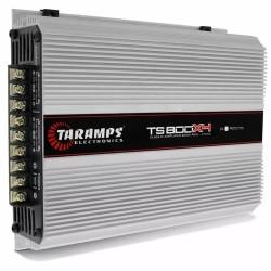 MÓDULO AMPLIFICADOR TARAMPS TS800 4 CANAIS 4X200W RMS 2 OHMS COMPACT AMPLIFICADOR POTENCIA