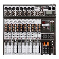 MESA SOM SOUNDCRAFT 12 CANAIS SX1202FX USB EFEITOS 28900090