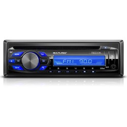 MP3 MULTILASER FREEDOM ENTRADA PARA CD MP3 USB AUX P2 FM 4X25W PRETO FUNCAO TROCA DE PASTAS MULTILAS