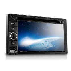 CENTRAL MULTIMÍDA DVD 2DIN EVOLVE LIGHT BLUETOOTH MIRRORLINK P3321 MULTILASER