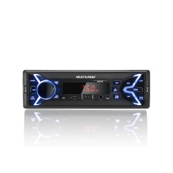 MP3 MULTILASER POP BT BLUETOOTH USB SD AUX 4X25WRMS P3336P