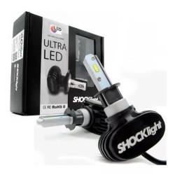 KIT LED HEADLIGHT H1 12V 6000K 50W 5000LM SHOCKLIGHT SLL-60001