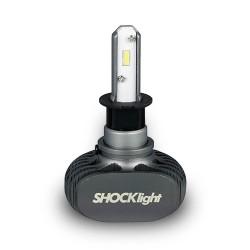 KIT LED HEADLIGHT H3 12V 6000K 50W 5000LM SHOCKLIGHT SLL-60003
