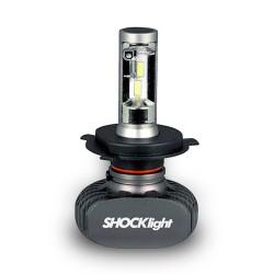 KIT LED HEADLIGHT H4 12V 6000K 50W 5000LM SHOCKLIGHT SLL-60004