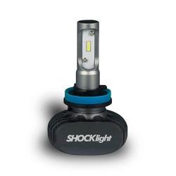 KIT LED HEADLIGHT H11 H9 12V 6000K 50W 5000LM SHOCKLIGHT SLL-60011
