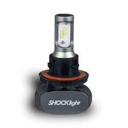 KIT LED HEADLIGHT H13 12V 6000K 50W 5000LM SHOCKLIGHT