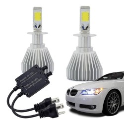KIT LED HEADLIGHT H3 2000 LUMENS BIVOLT 6200K MULTILASER AU824