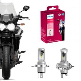 ULTINON MOTO LED LAMPADA FAROL MOTOCICLETA HS1 H4 PHILIPS 11458UMX1