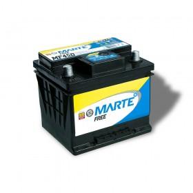 BATERIA AUTOMOTIVA MARTE FREE 45 AMPERES 12V 12KG POLO POSITIVO DIREITO - F45D