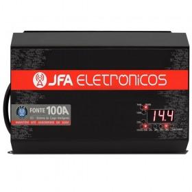 FONTE CARREGADOR DE BATERIA JFA 100A