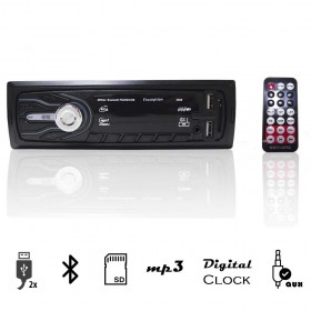 RADIO MP3 FIRST OPTION BLUETOOTH COM SUPORTE USB/SD