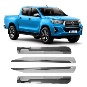 FRISO LATERAL TOYOTA HILUX CROMADO