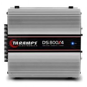 MODULO AMPLIFICADOR TARAMPS CLASSE D DS800X4 WATTS 2 OHMS X4 TARAMPS 900886