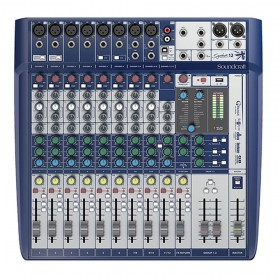 MESA DE SOM SOUNDCRAFT ANALÓGICA SIGNATURE 12 CANAIS - HARMAN