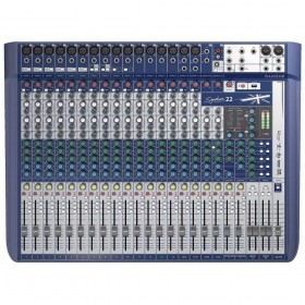 MESA DE SOM SOUNDCRAFT SIGNATURE 22 - HARMAN