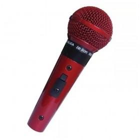 MICROFONE SM58 P4 VERMELHO LE SON 2AM002266