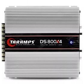 MODULO AMPLIFICADOR DE POTÊNCIA DS800 TARAMPS 1 OHM 4 CANAIS DIGITAL CLASSE D