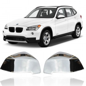 CAPA ESPELHO RETROVISOR BMW X1 2012 A 2015 CROMADO PINTADO MK2