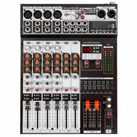 MESA SOM SOUNDCRAFT 8 CANAIS SX802FX USB EFEITOS 28900089