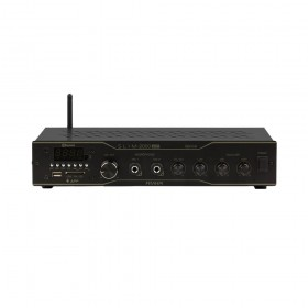 AMPLIFICADOR RECEIVER PARA SOM RESIDENCIAL OU COME SLIM 2000 APP OPTICAL 120W 2 OHMS 3VS FRAHM