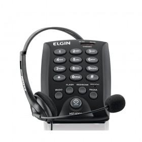 TELEFONE HEADSET TELEMARKETING ELGIN HST-6000